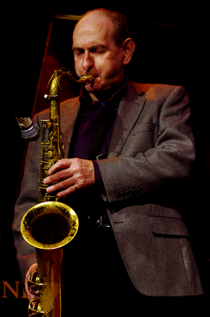 Bobby Wellins, with the Andrea Pozza Trio, Under Ground Theatre, Eastbourne, UK