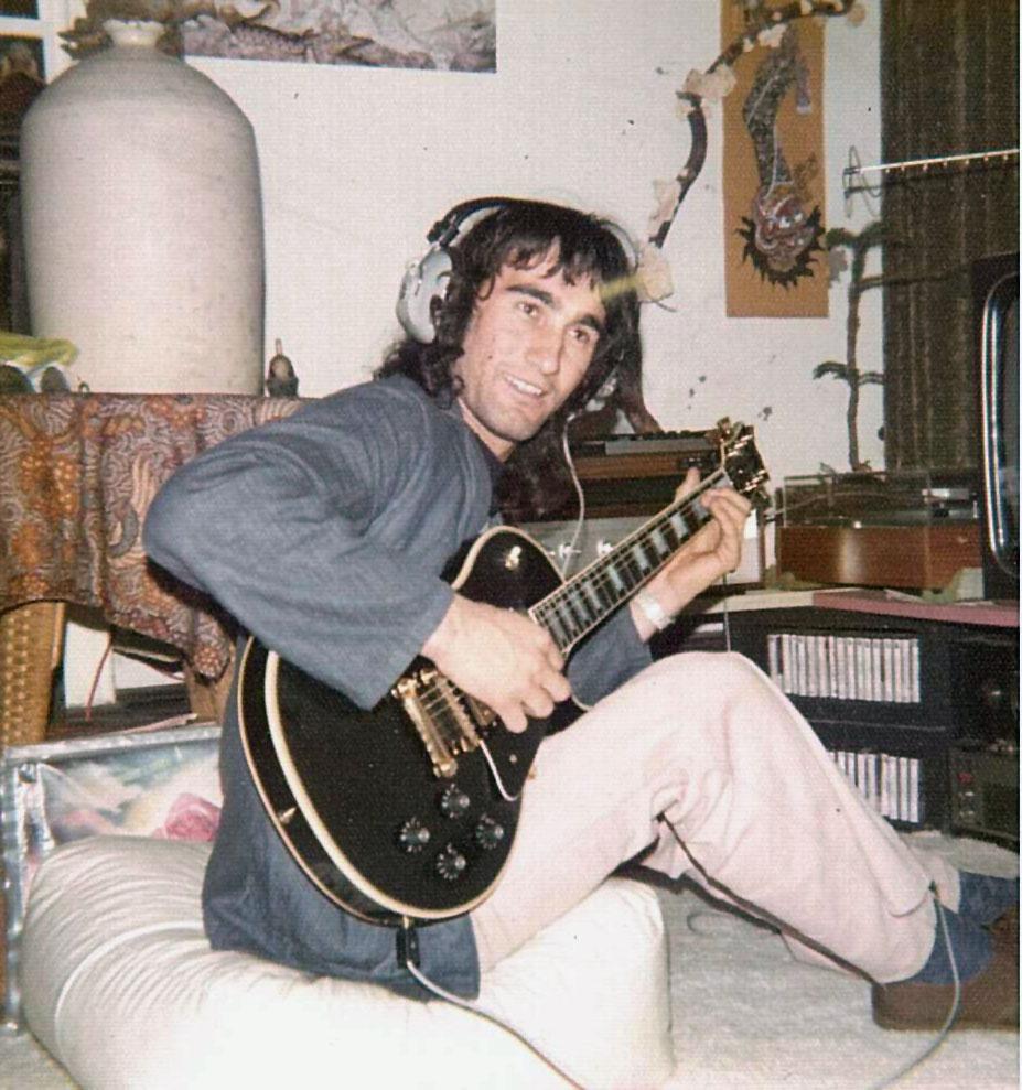 Albert calvo working on song for eros gig