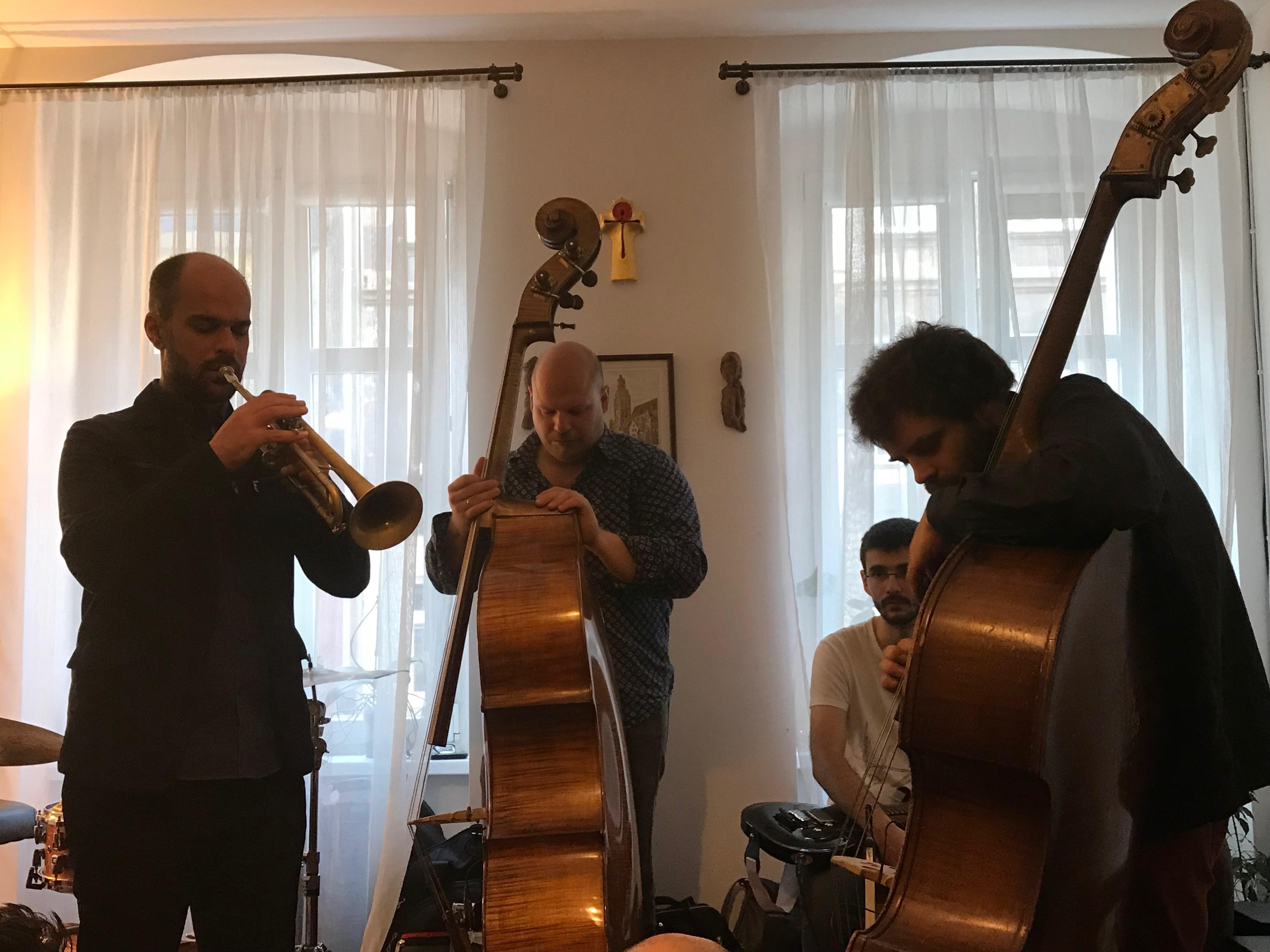 Amir ElSaffar, Ksawery Wojcinski, Michal Sember, Mikolay Nowicki - Jazztopad 2018