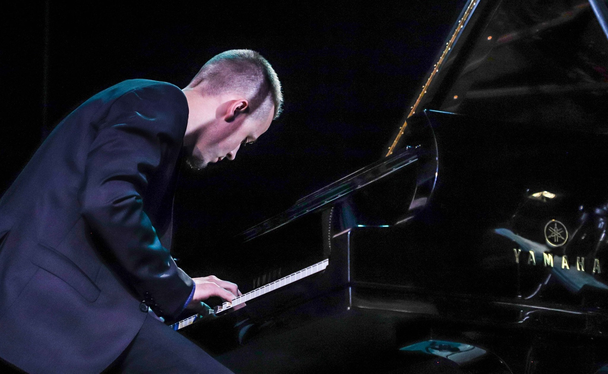 Domas Žeromskas at Vilnius Mama Jazz 2018