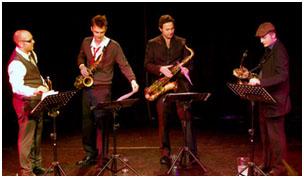 Ryan Quigley, Paul Towndrow, Konrad Wiszniewski, Allon Beauvoisin 29335 Images of Jazz