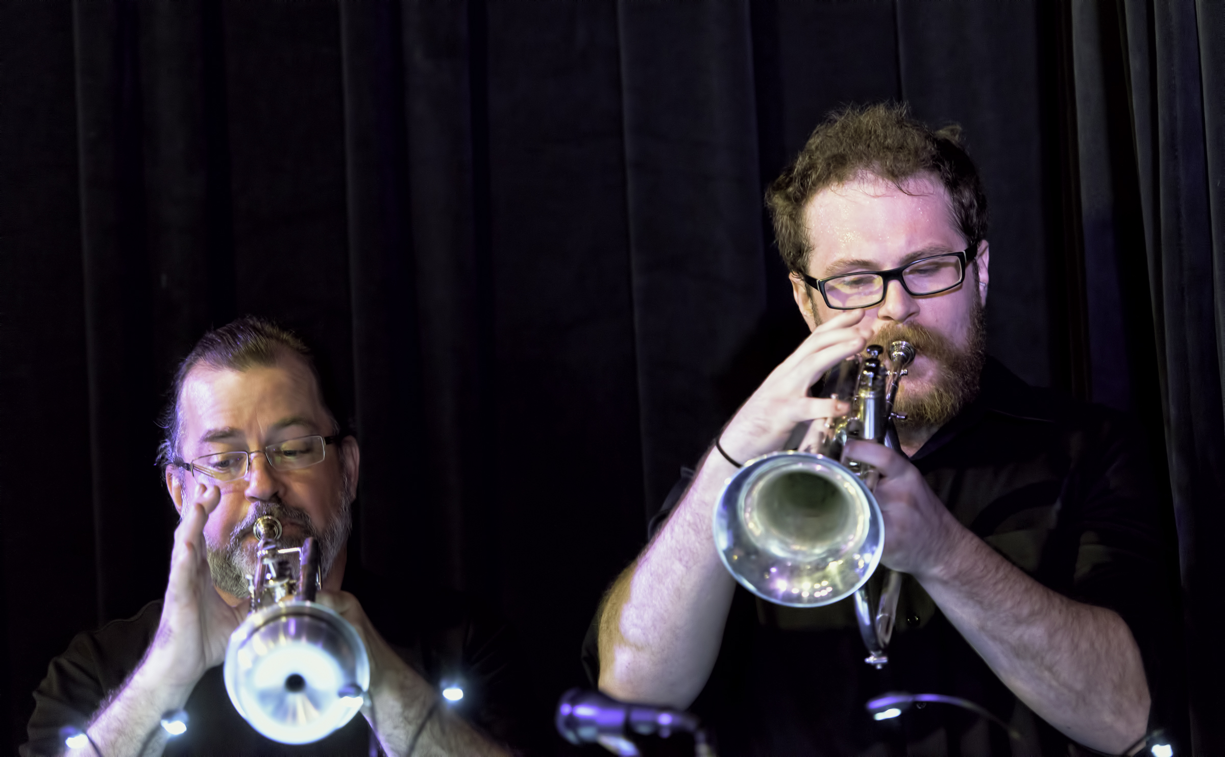 Chris Dolske And Jayson Owen Davis With The Scottsdale Community College Jazz Orchestra At The Nash In Phoenix