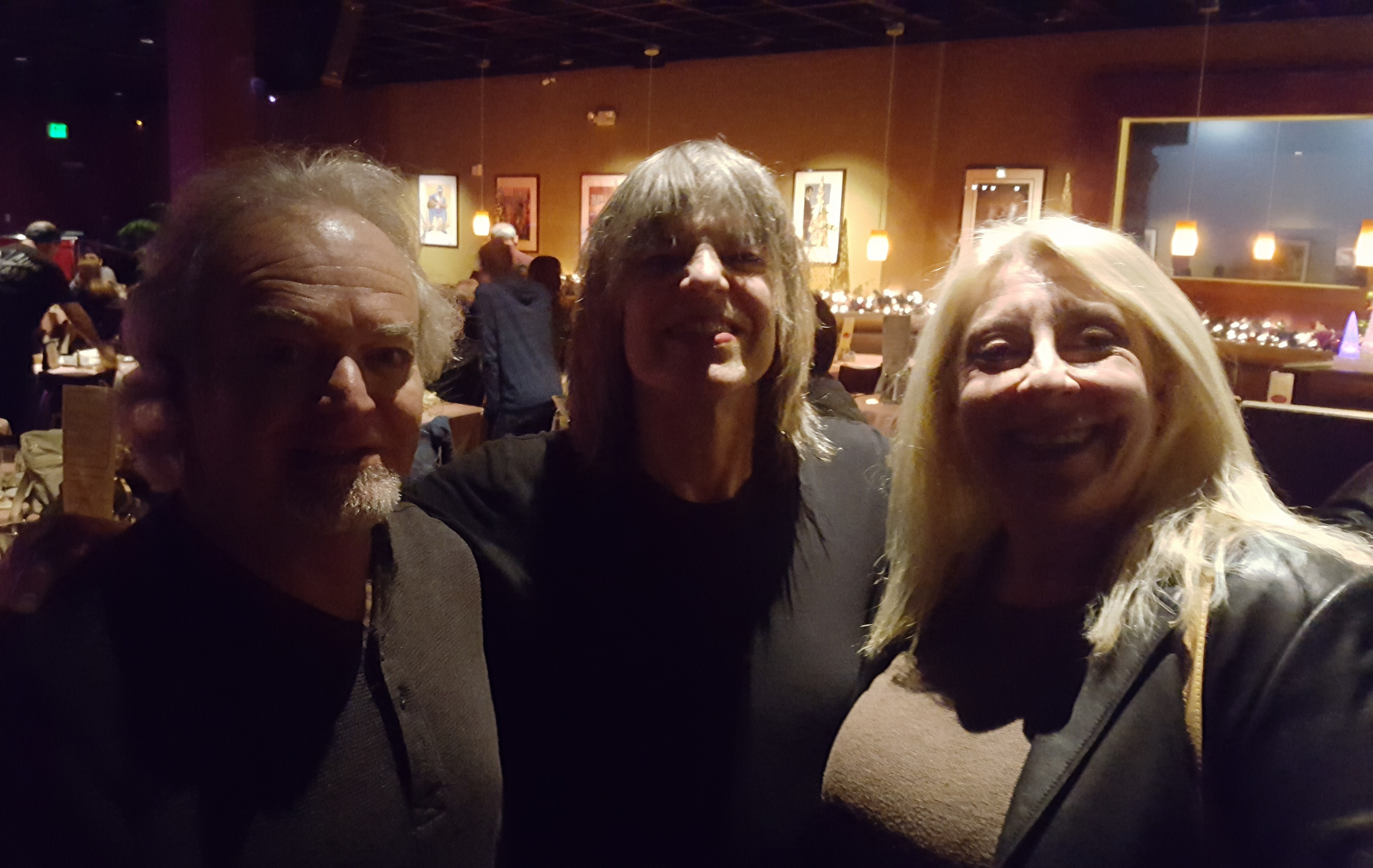 Jim And Ronda Worsley With Mike Stern