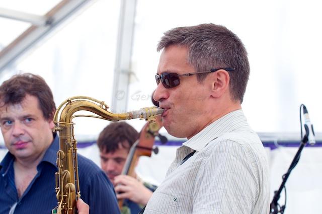 Dave O'Higgins Playing Tenor