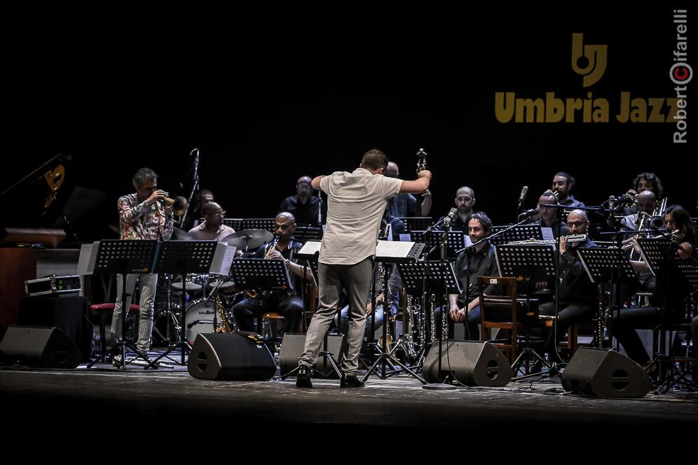 Umbria Jazz Orchestra: Paolo Fresu, Ryan Truesdell, Umbria Jazz 2017