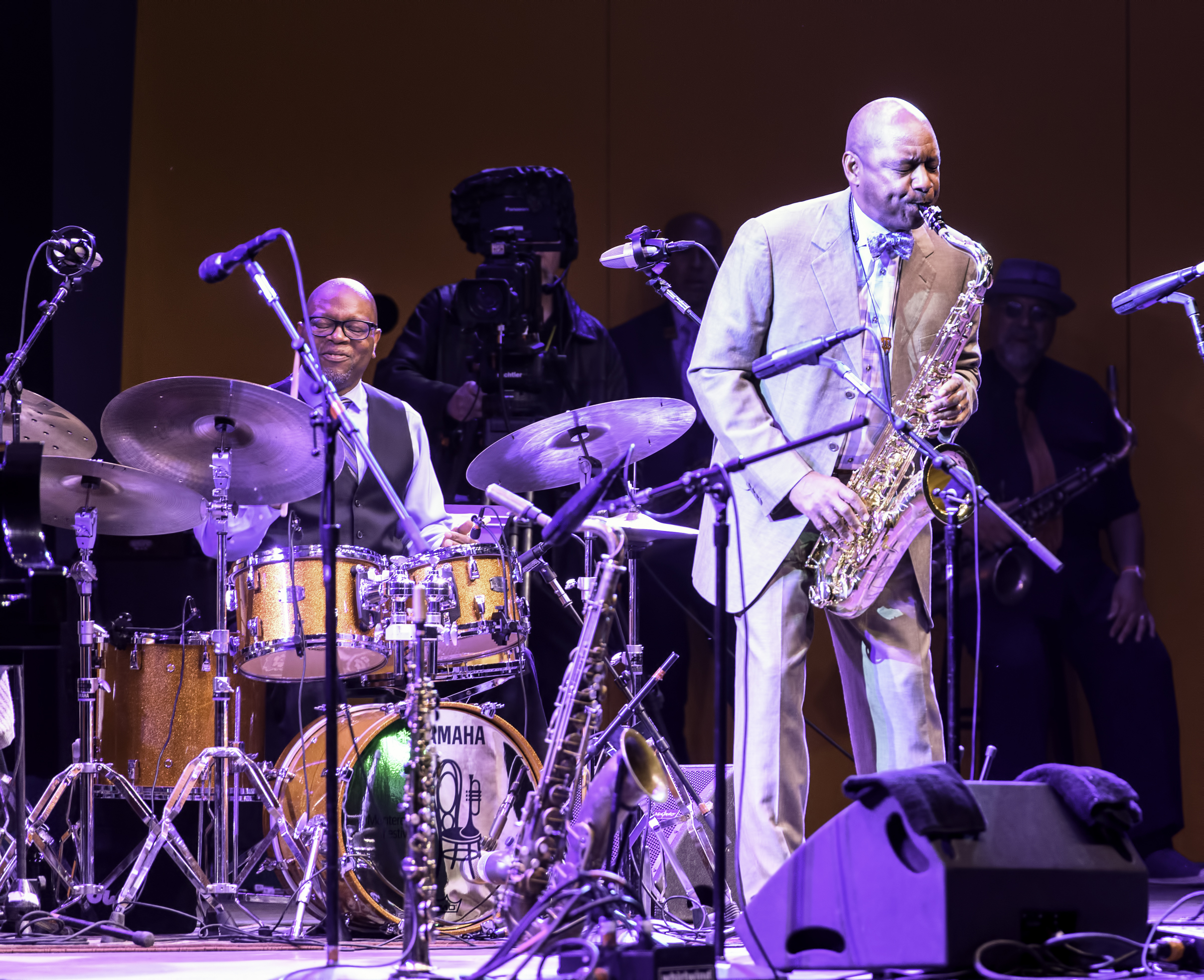 Lewis Nash and Joshua Redman with A Tribute to Sonny Rollins at the Monterey Jazz Festival