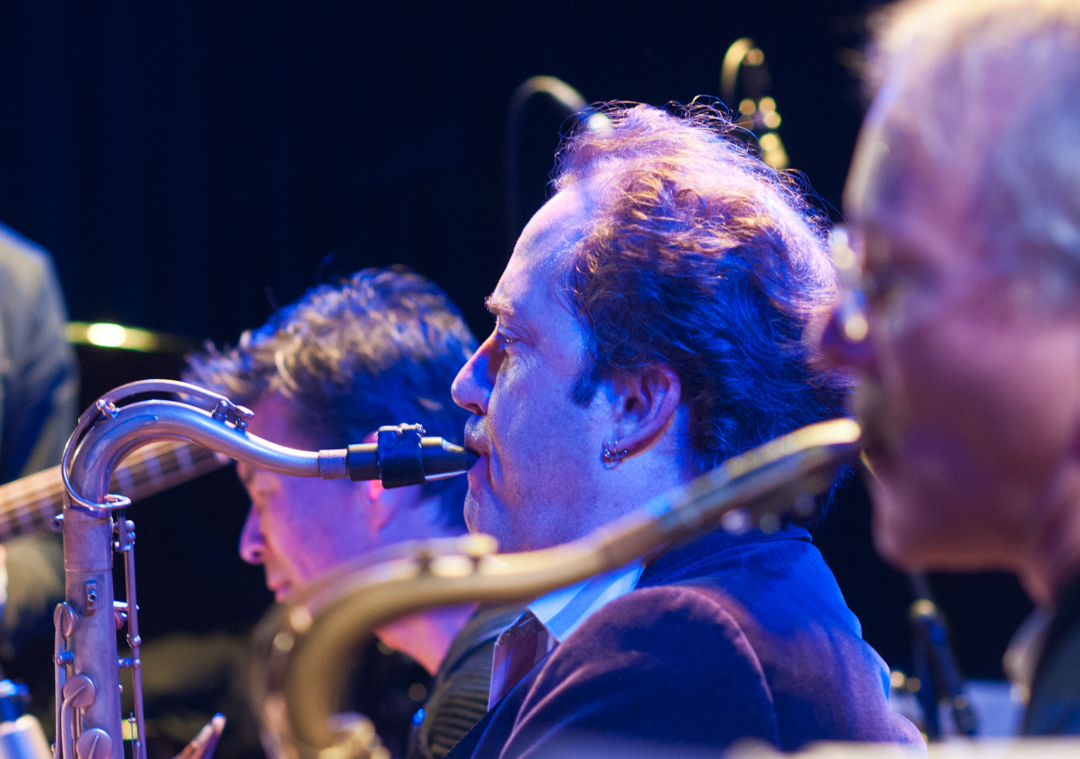 Doug Wieselman and Peter Apfelbaum with Steven Bernstein's Mto Plays Sly at the Winter Jazzfest 2012