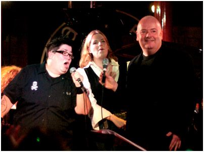 Lea Delaria, Clare Teal, Ian Shaw 21262 Pizza Express, Dean Street, London Oct. 2007 Images of Jazz