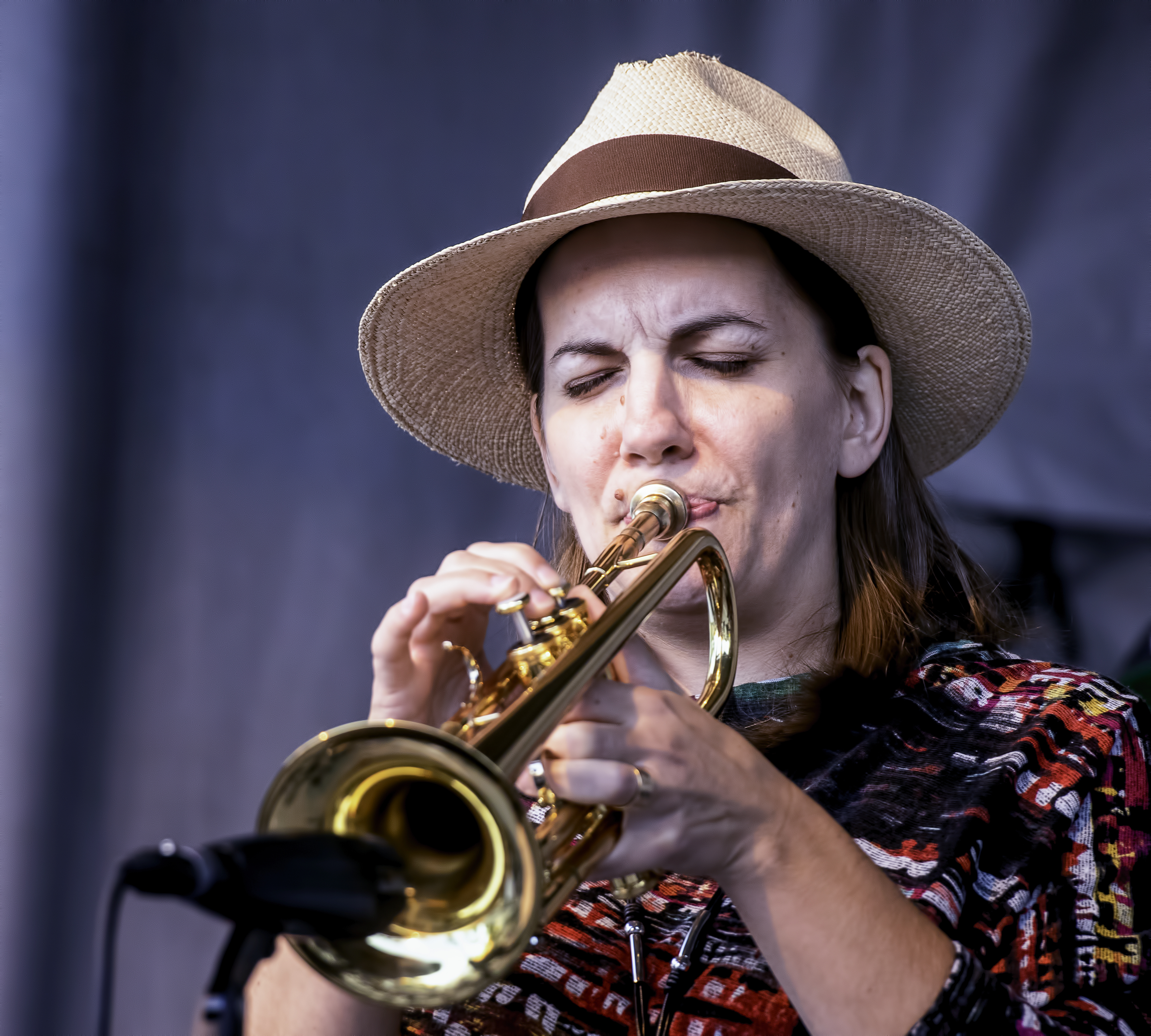 Rebecca Hennessy with Way North at the Guelph Jazz Festival 2019
