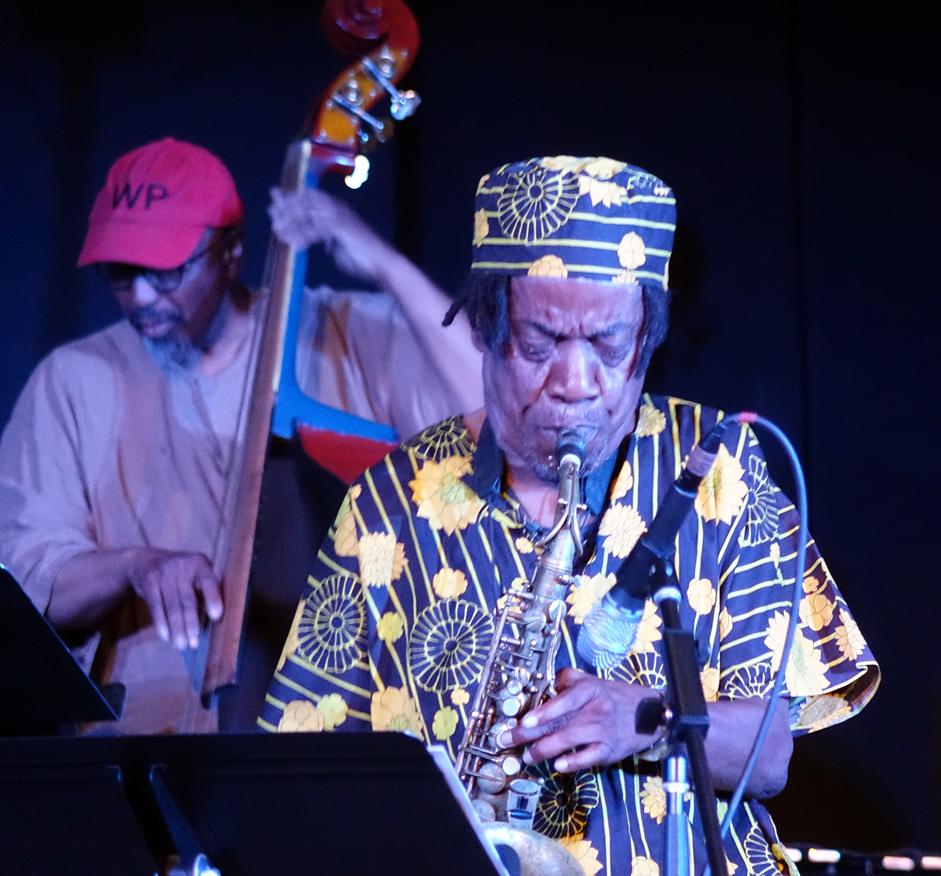 William Parker & Jemeel Moondoc at Vision Festival 20