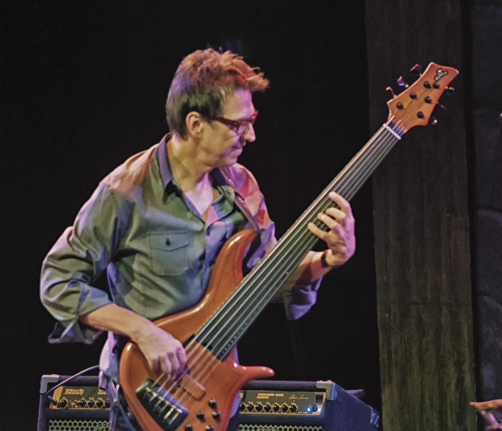 Alain caron at the montreal international jazz festival 2013