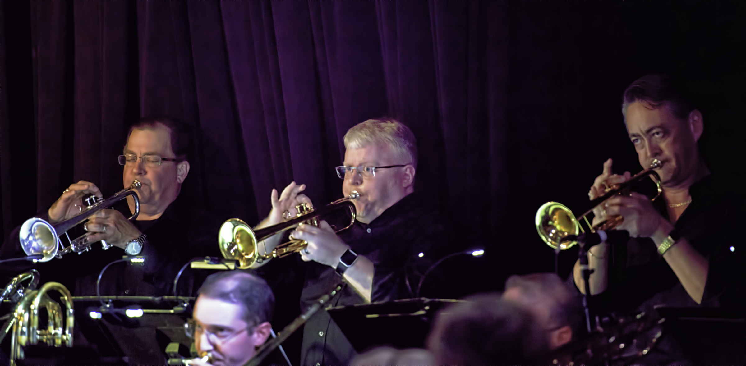 Chris Dolske, Dave Coolidge And Ray Nelson With Eric Rasmussen And Scottsdale Community College Jazz Orchestra Featuring John Hollenbeck At The Nash In Phoenix