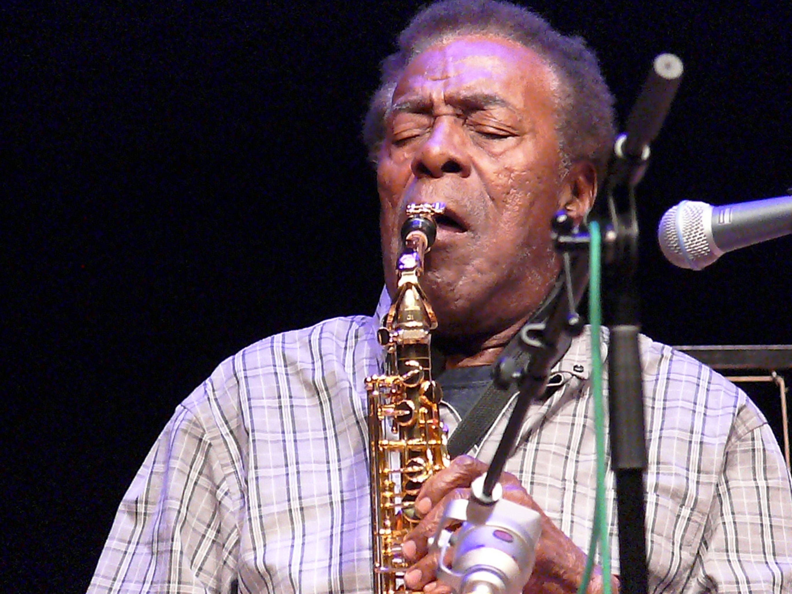 Sonny simmons at the vision festival, new york in june 2013