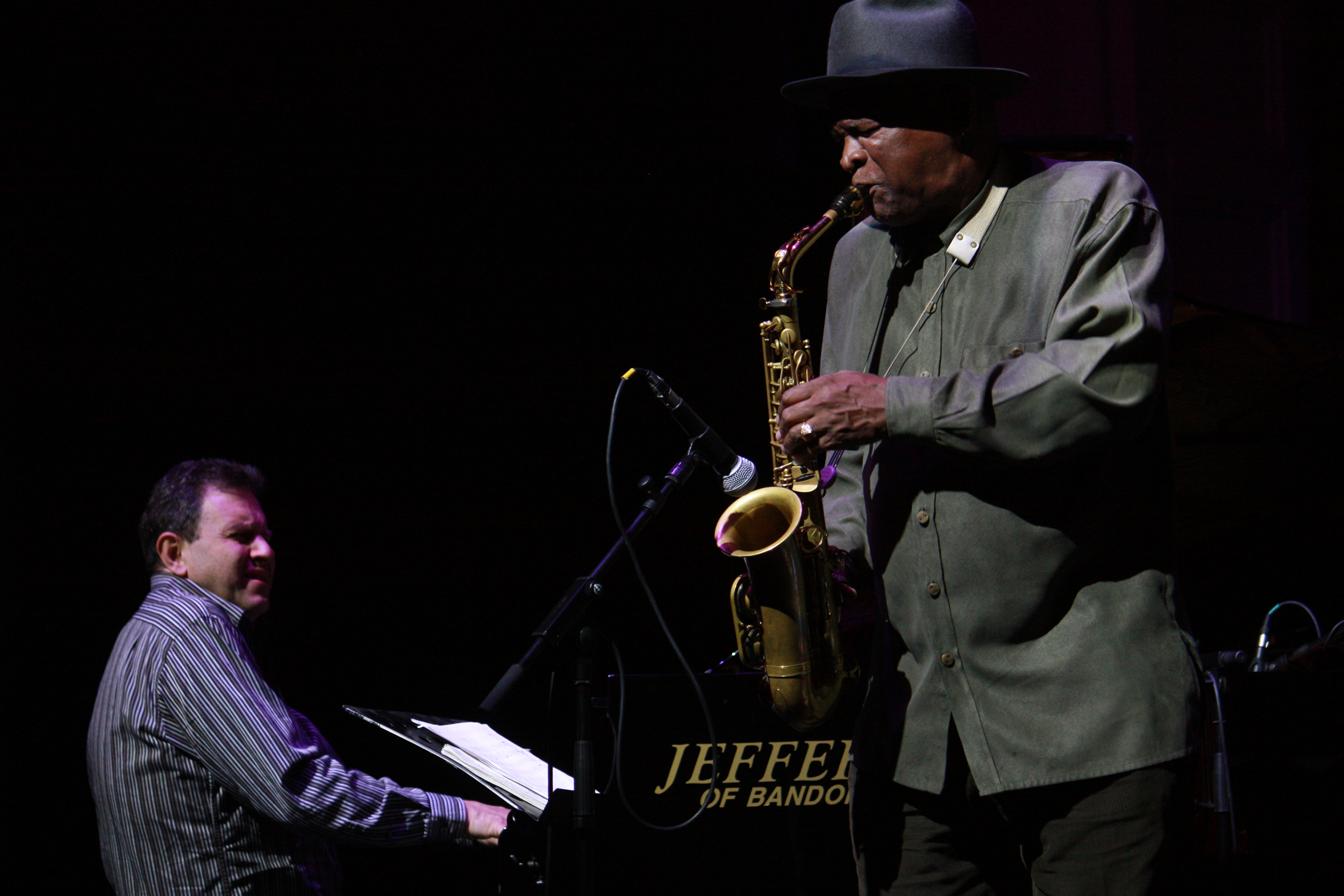 Bruce Barth and Bobby Watson at Guinness Cork Jazz Festival 2011