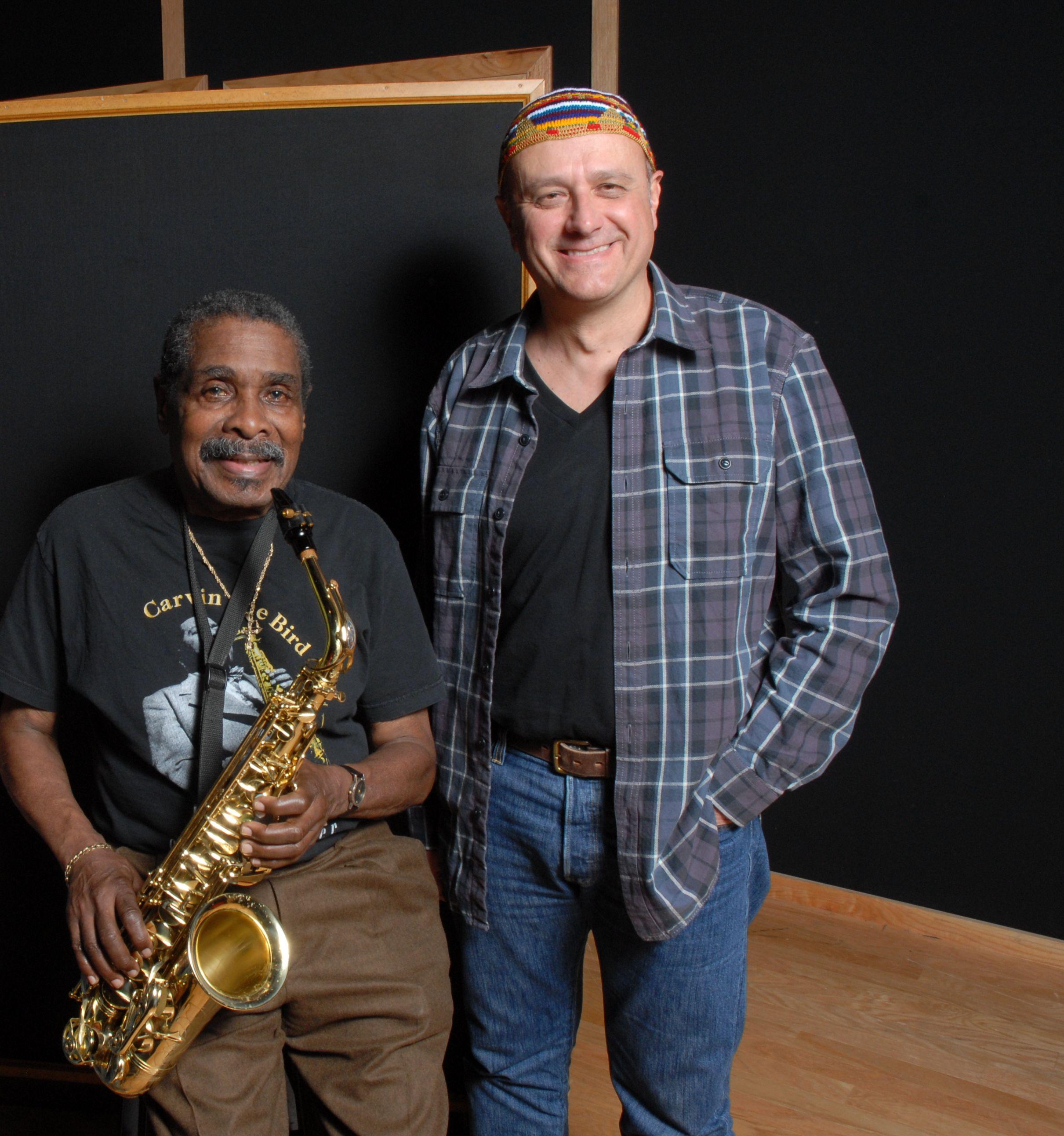 Roberto Magris and Sam Reed