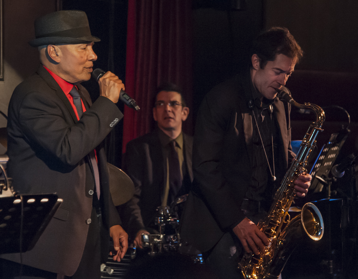 Colin Hunter - Daniel Barnes - Perry White - Colin Hunter & Joe Sealy Quartet - Jazz Bistro - Toronto