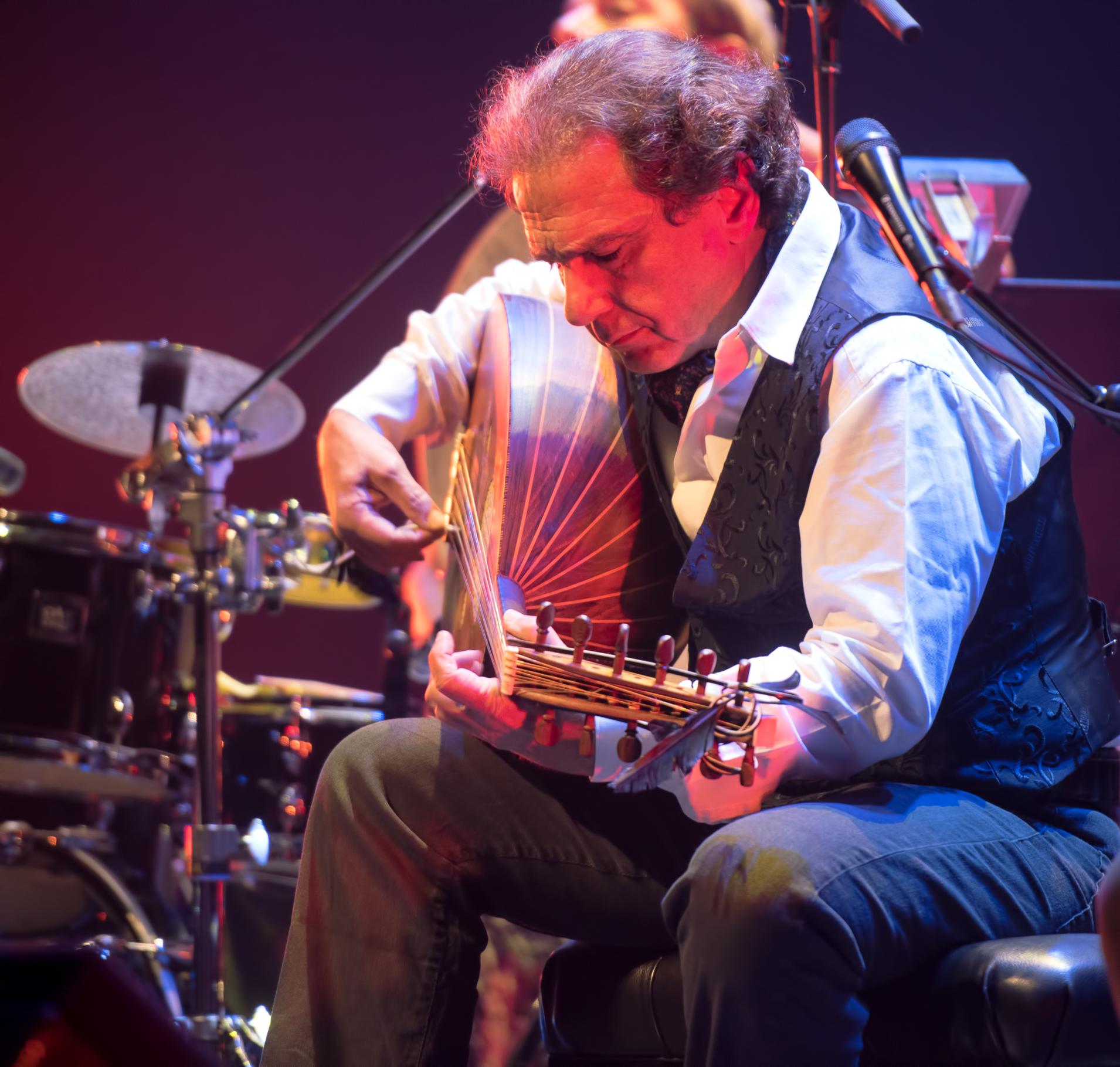 Rabih Abou-Khalil at the Montreal International Jazz Festival 2015