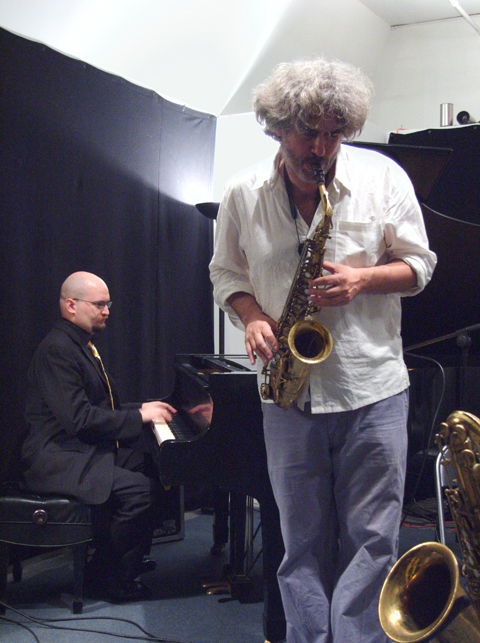 Tim Berne and Ethan Iverson with Buffalo Collision - Center for Improvisational Music 2007