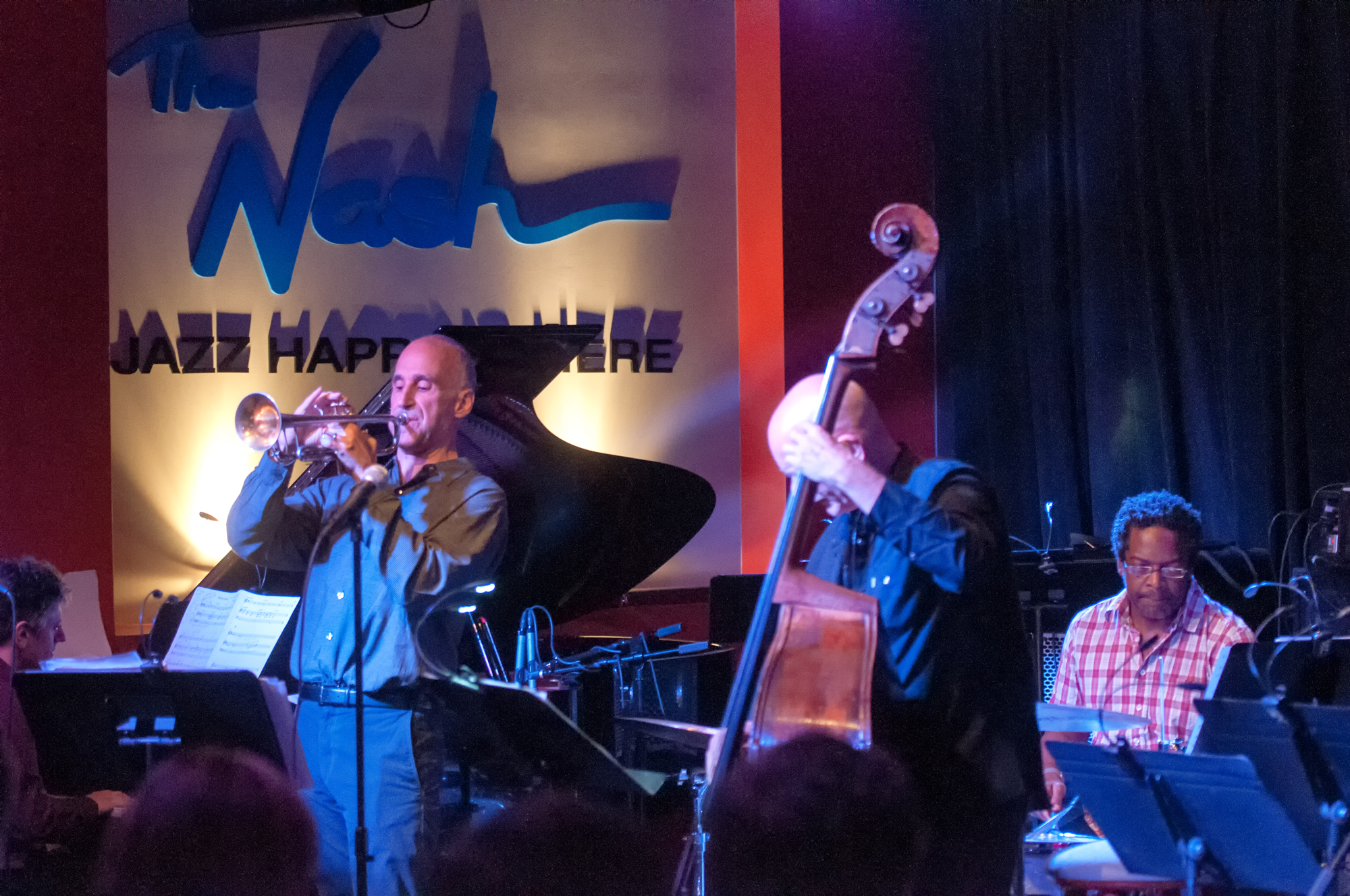 Gary Versace, Ralph Alessi, Mark Helias And Gerald Cleaver With The Ralph Alessi Quartet At The Nash