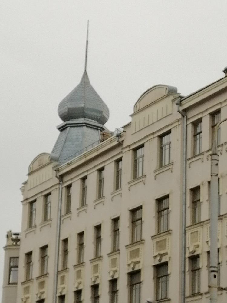 Vilnius, old town facade