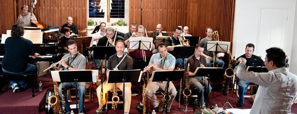 Gateway Jazz Orchestra Rehearsal (4/25/2011)