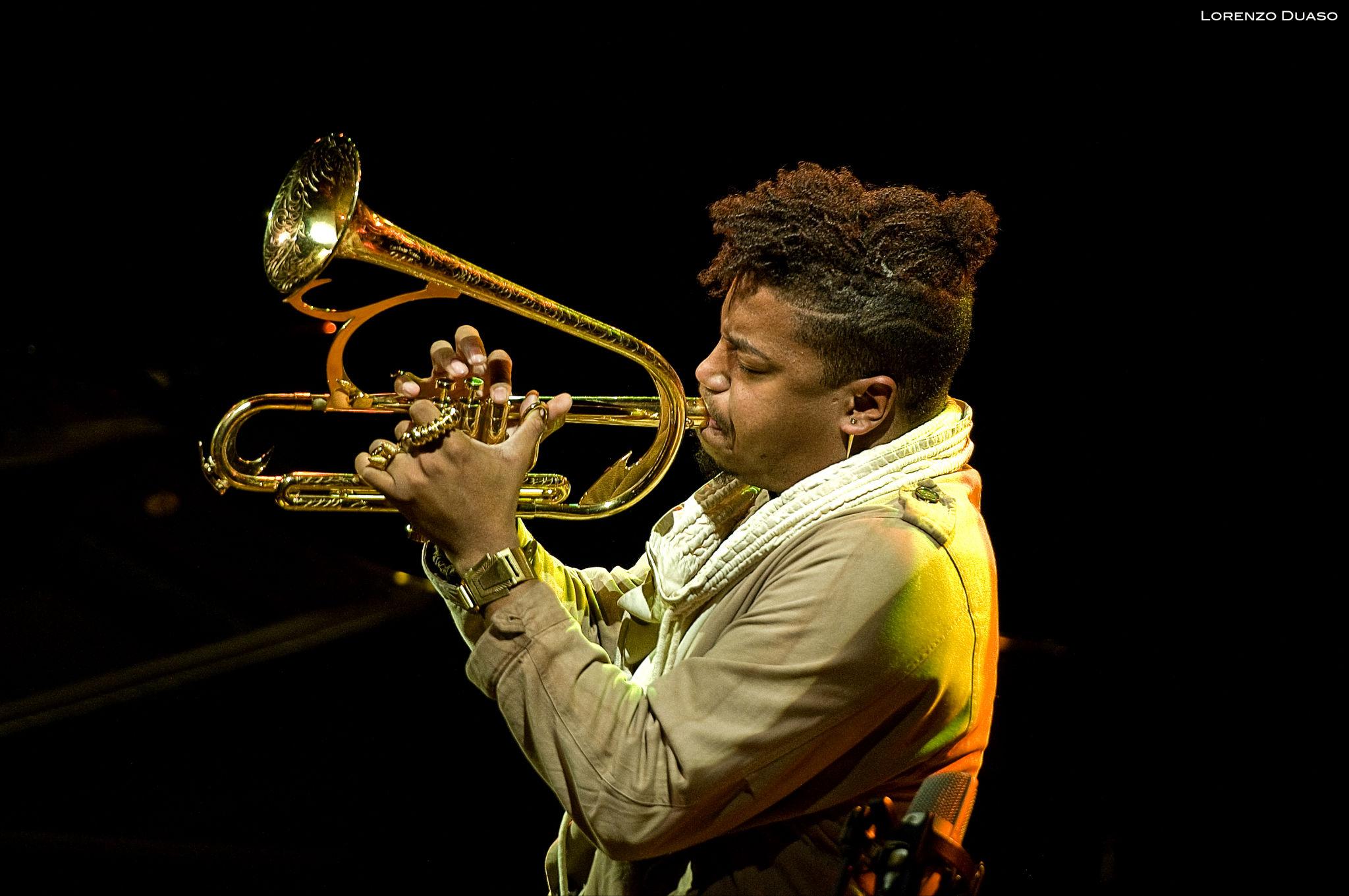 Christian Scott at the Barcelona Jazz Festival