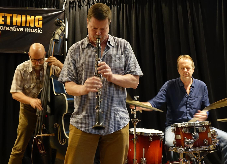 Kent Kessler, Ken Vandermark & Tom Rainey at Something Else! Festival
