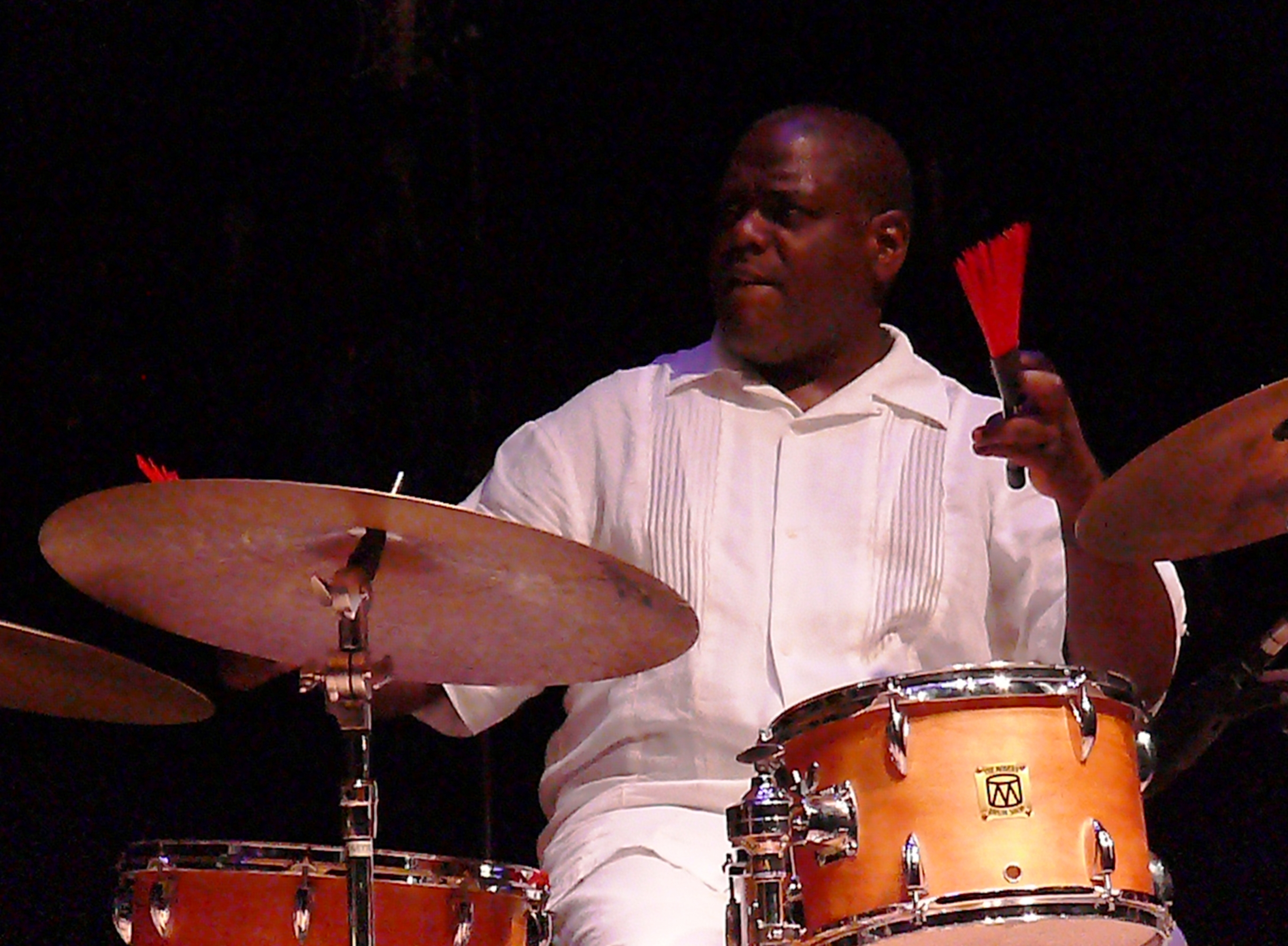 Michael wimberly at the vision festival, new york in june 2013