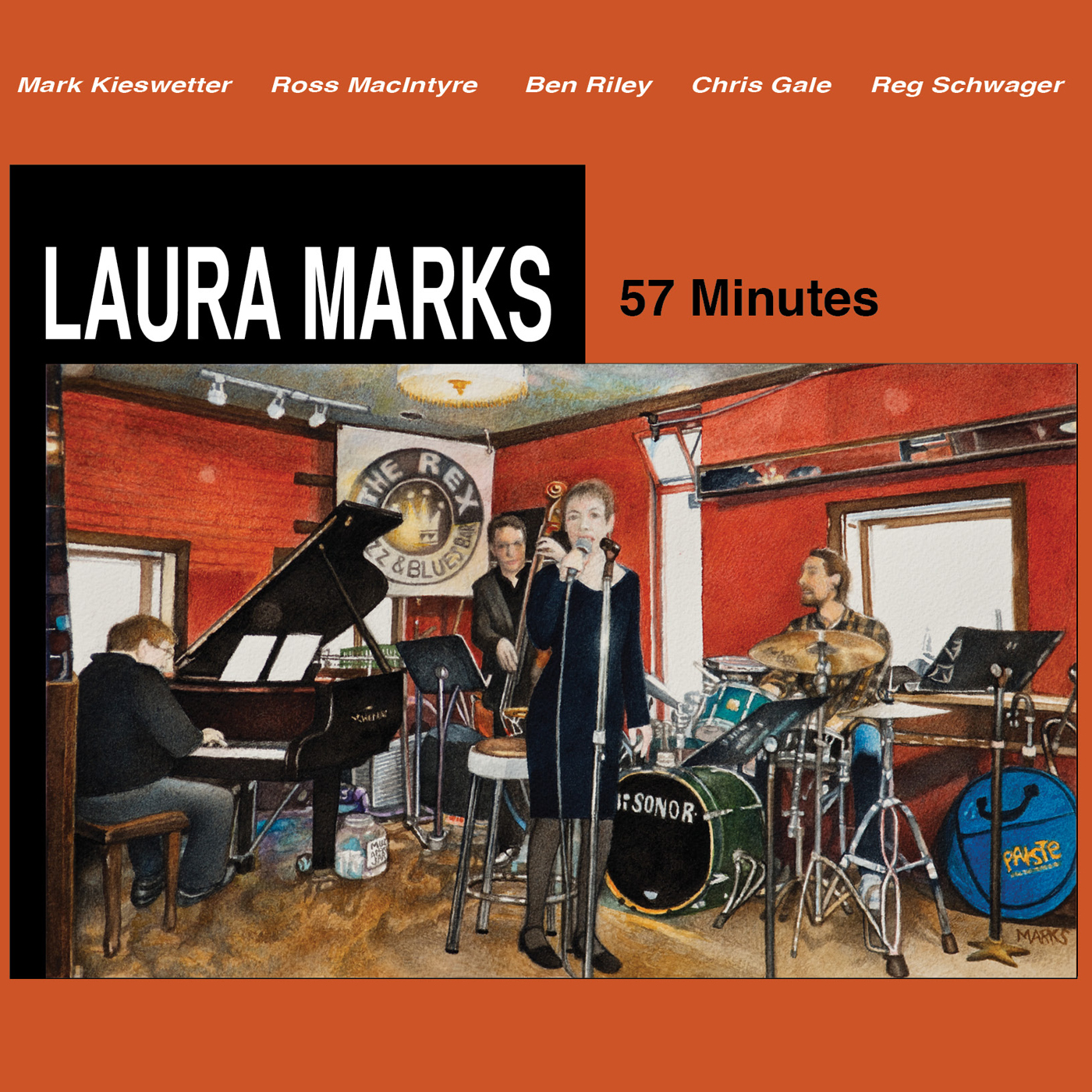 """CD cover """"57 Minutes"""""""