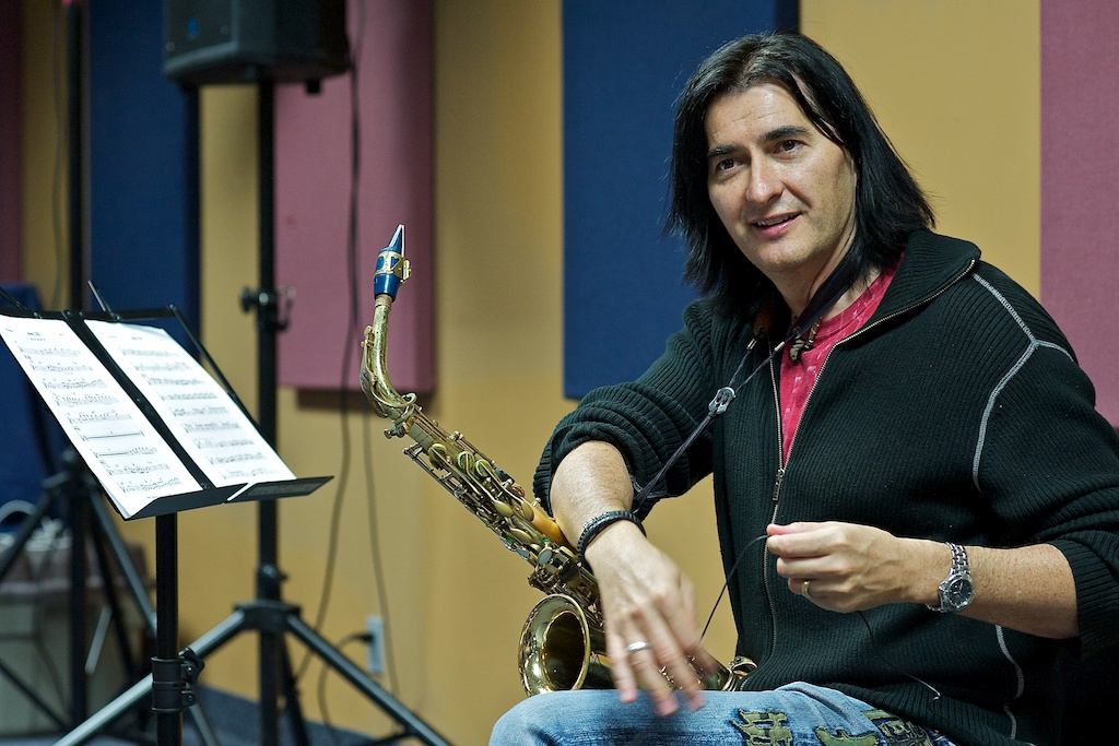 Warren Hill - Long & McQuade Sax Clinic - Toronto
