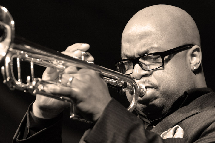 Nicholas Payton at the New Orleans Jazz and Heritage Festival 2005