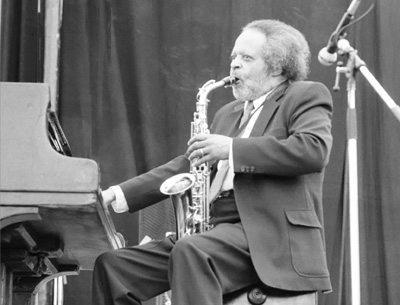 Jaki Byard 0324225 First Pendley Int. Jazz Fest., UK July 1985 Images of Jazz