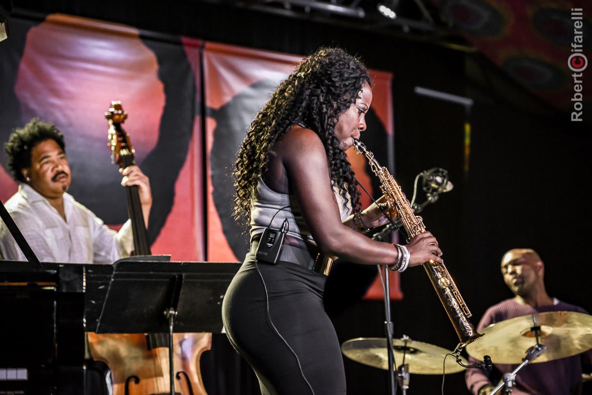 Tia Fuller Quartet - 60th Monterey Jazz Festival, 2017