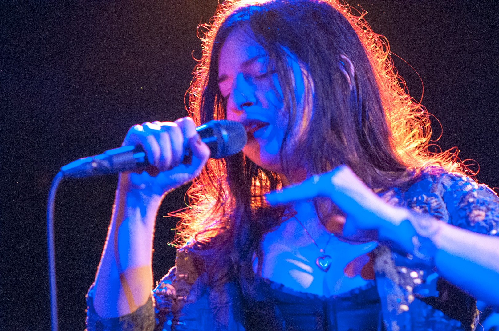 Jennifer Charles with Elysian Fields at the Undead Music Festival