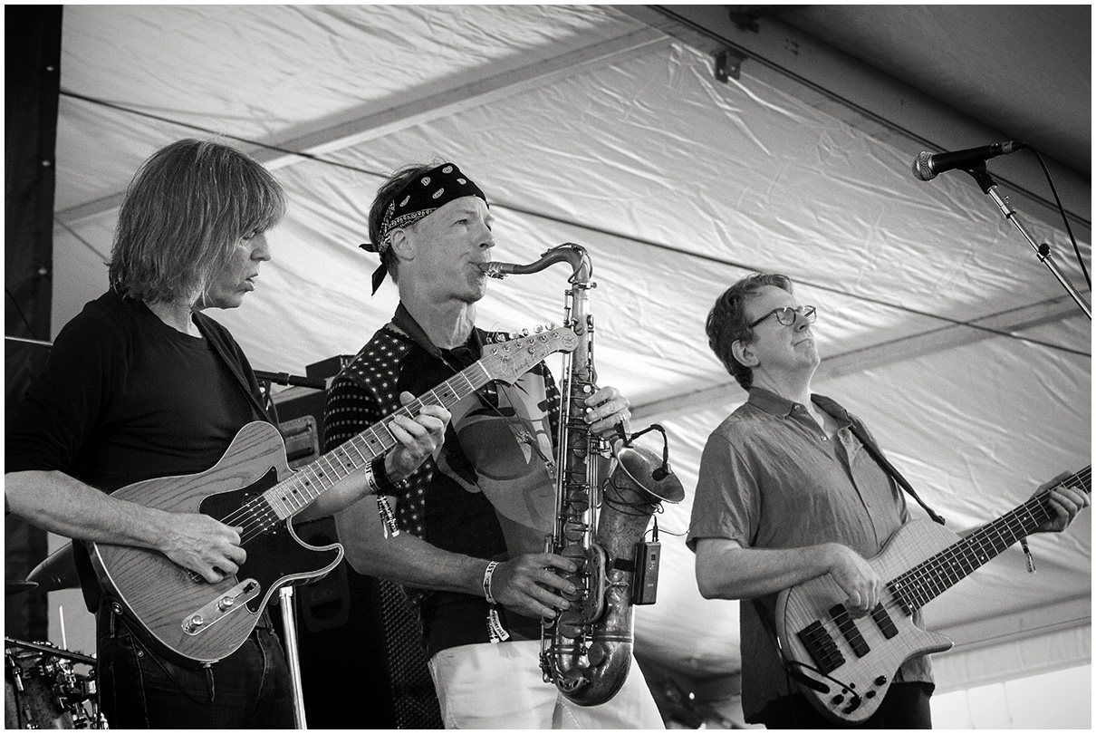 Mike Stern/Bill Evans Band at the 2015 Newport Jazz Festival