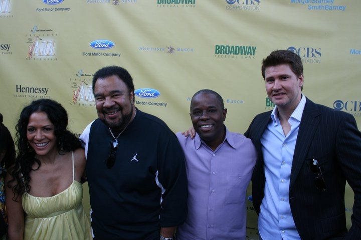 Sheila E., George Duke, Eddie B. and Michael Lington