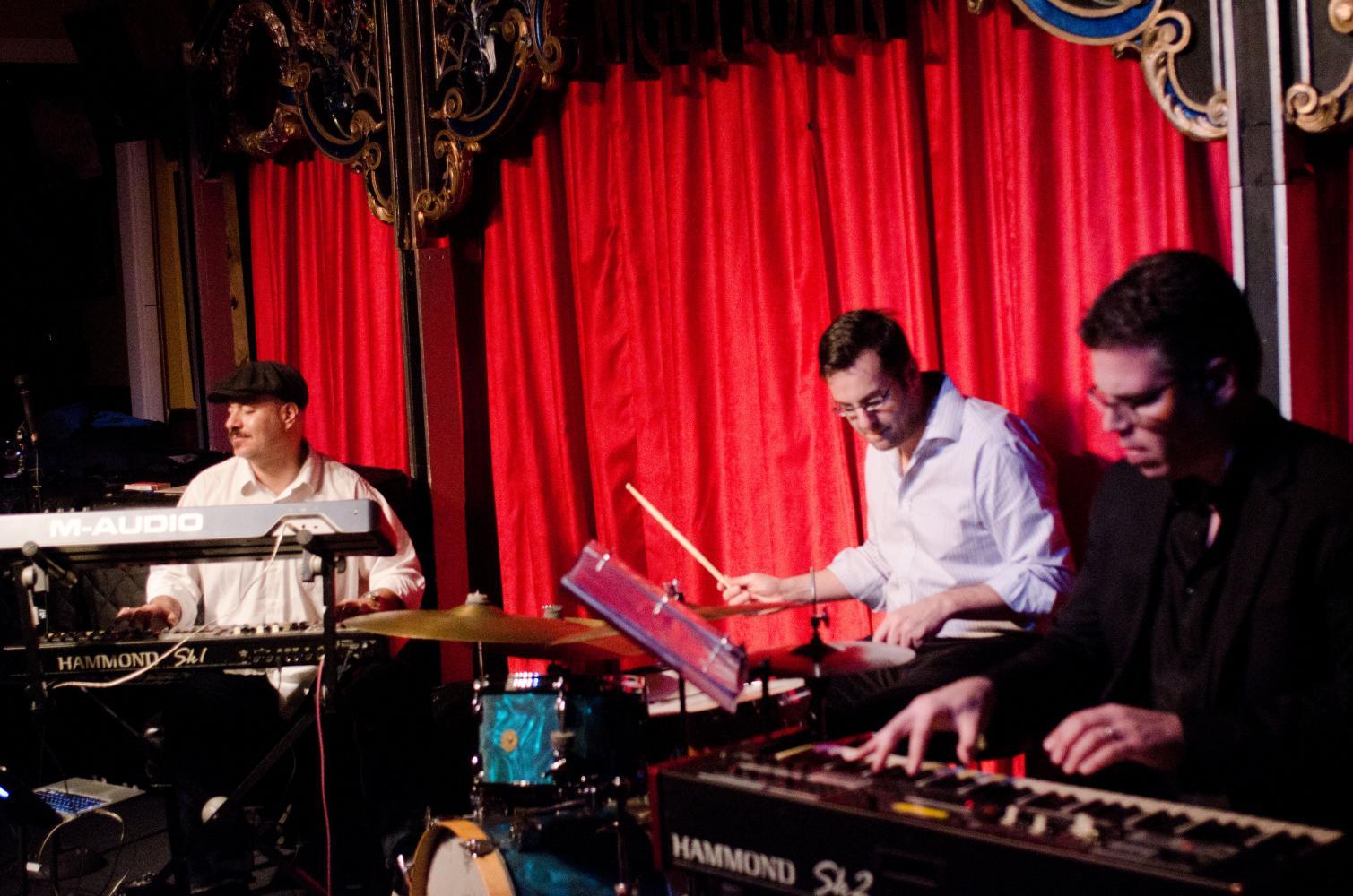 Brian Charette, Jordan Young & Jim Alfredson