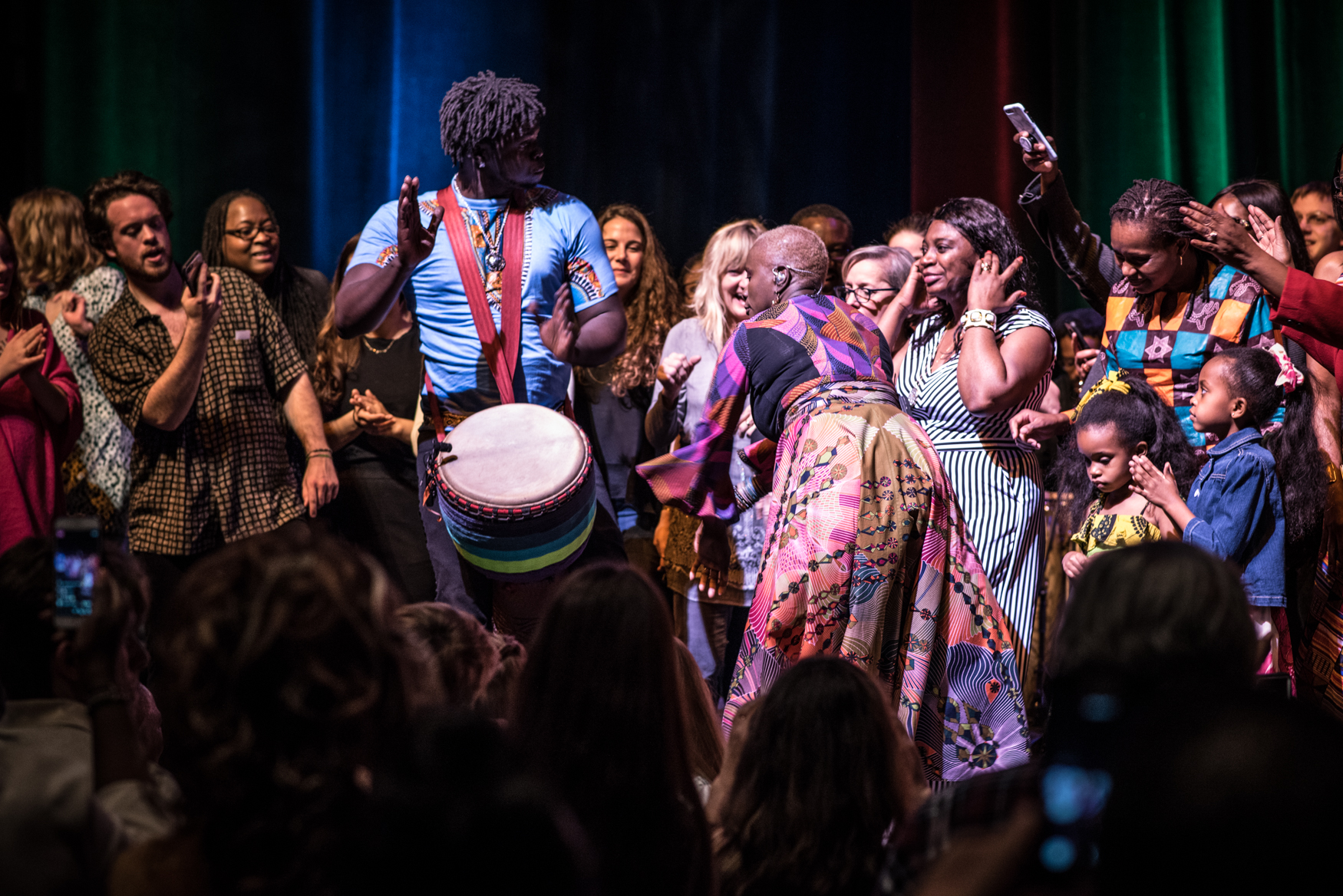 Angelique Kidjo, Alys Stephens Performing Arts Center