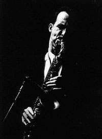 "John Lurie with ""The Lounge Lizards"" Akbank Jazz Festival, 1997 Istanbul."