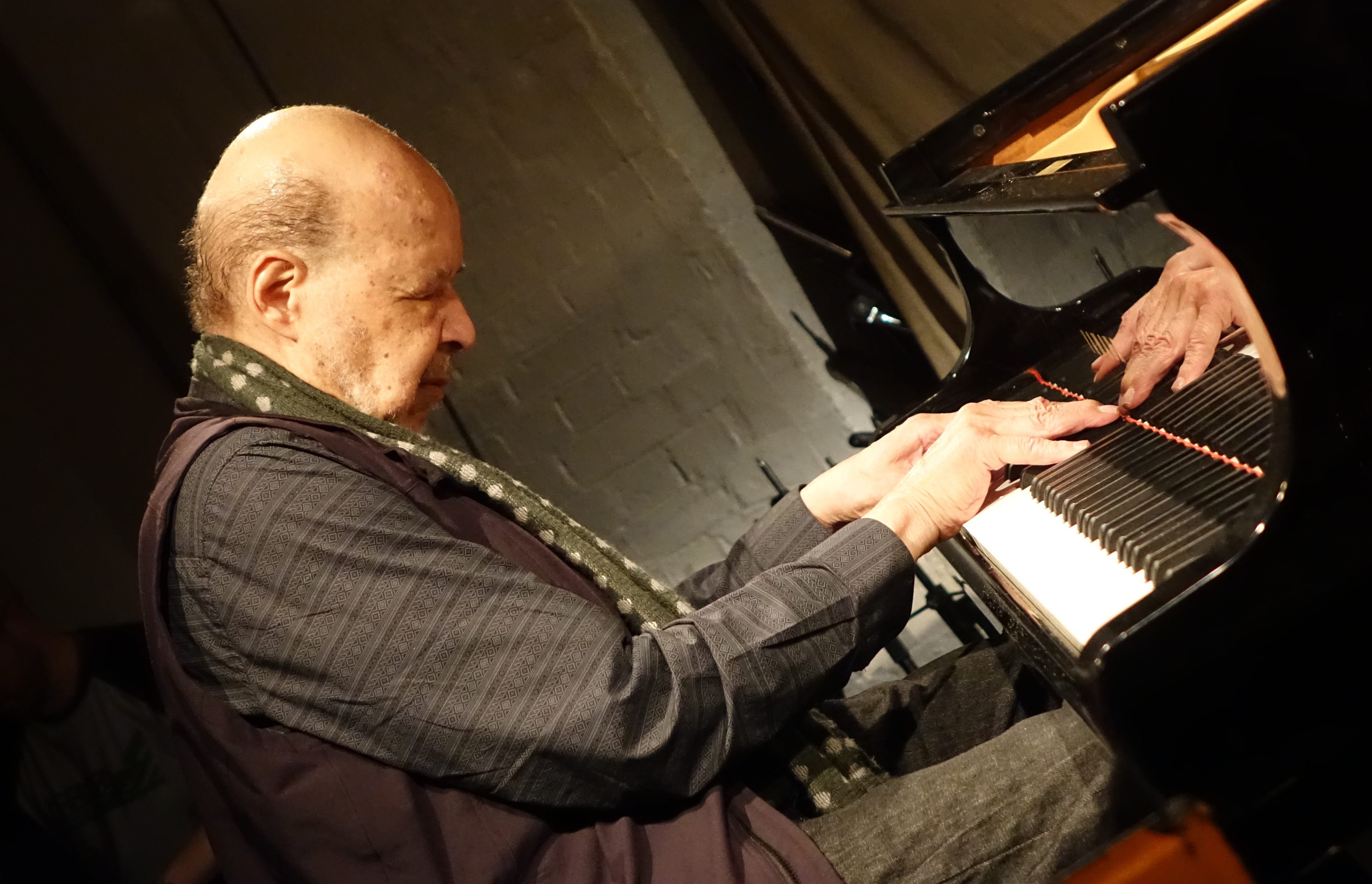 Dave Burrell at Cafe Oto, London in November 2018