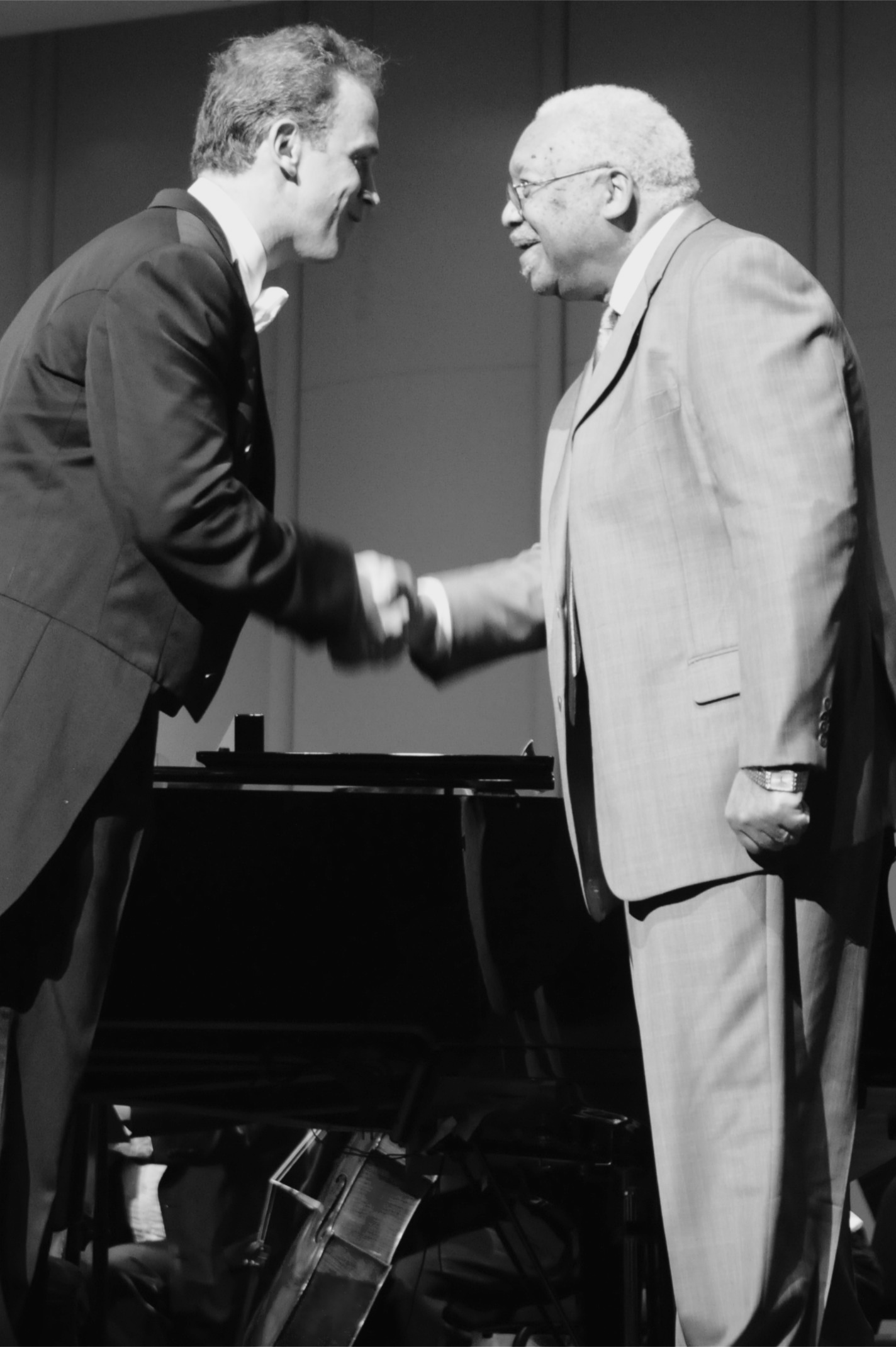 Conductor of the Louisiana Philharmonic Orchestra Meets Ellis Marsalis