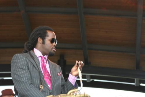Jason Marshall@ 2009 Indy Jazzfest