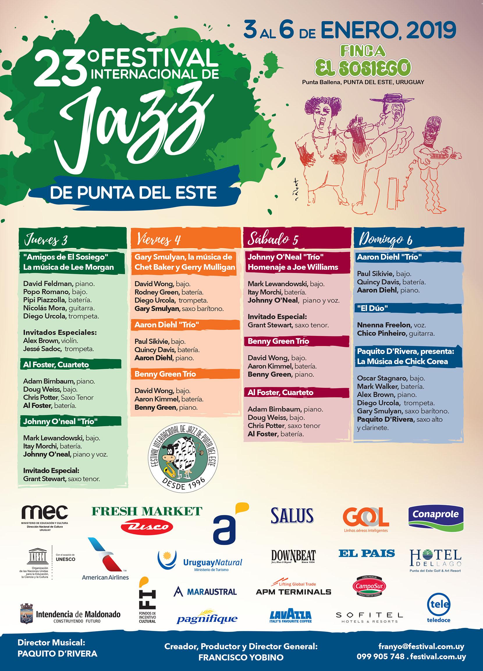 23th International Jazz Festival Punta Del Este