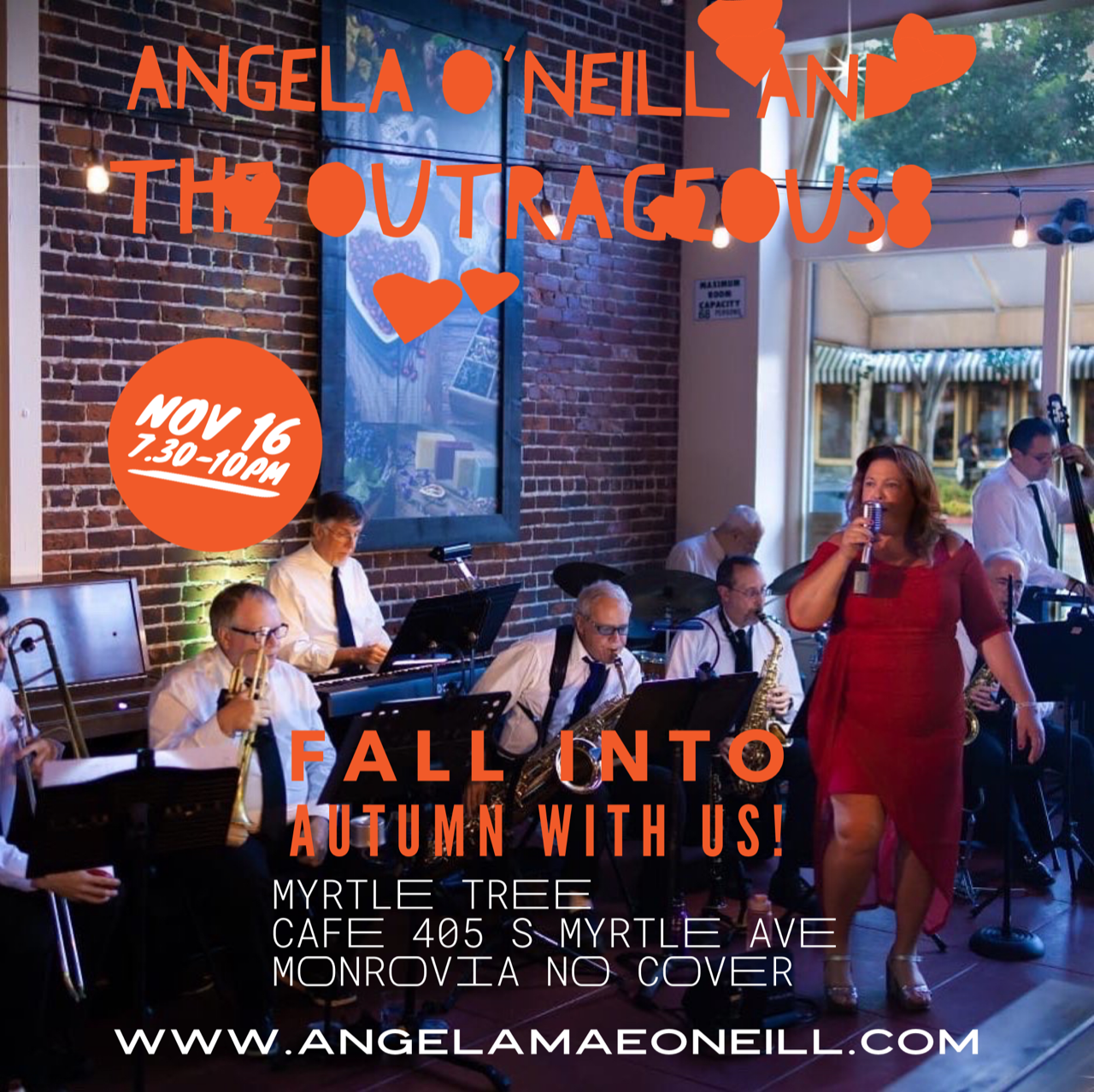 Angela O'Neill And The Outrageous8