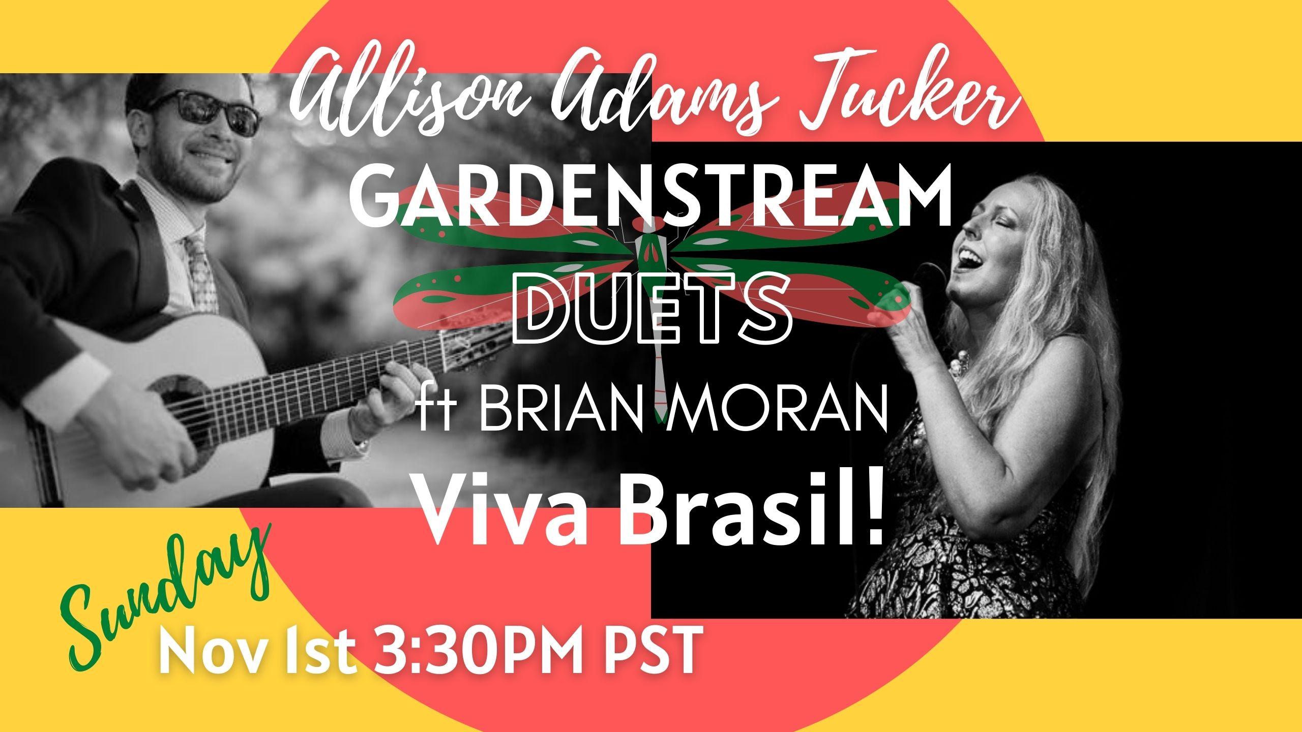 Allison Adams Tucker's Duets Ft Brian Moran - Viva Brasil!