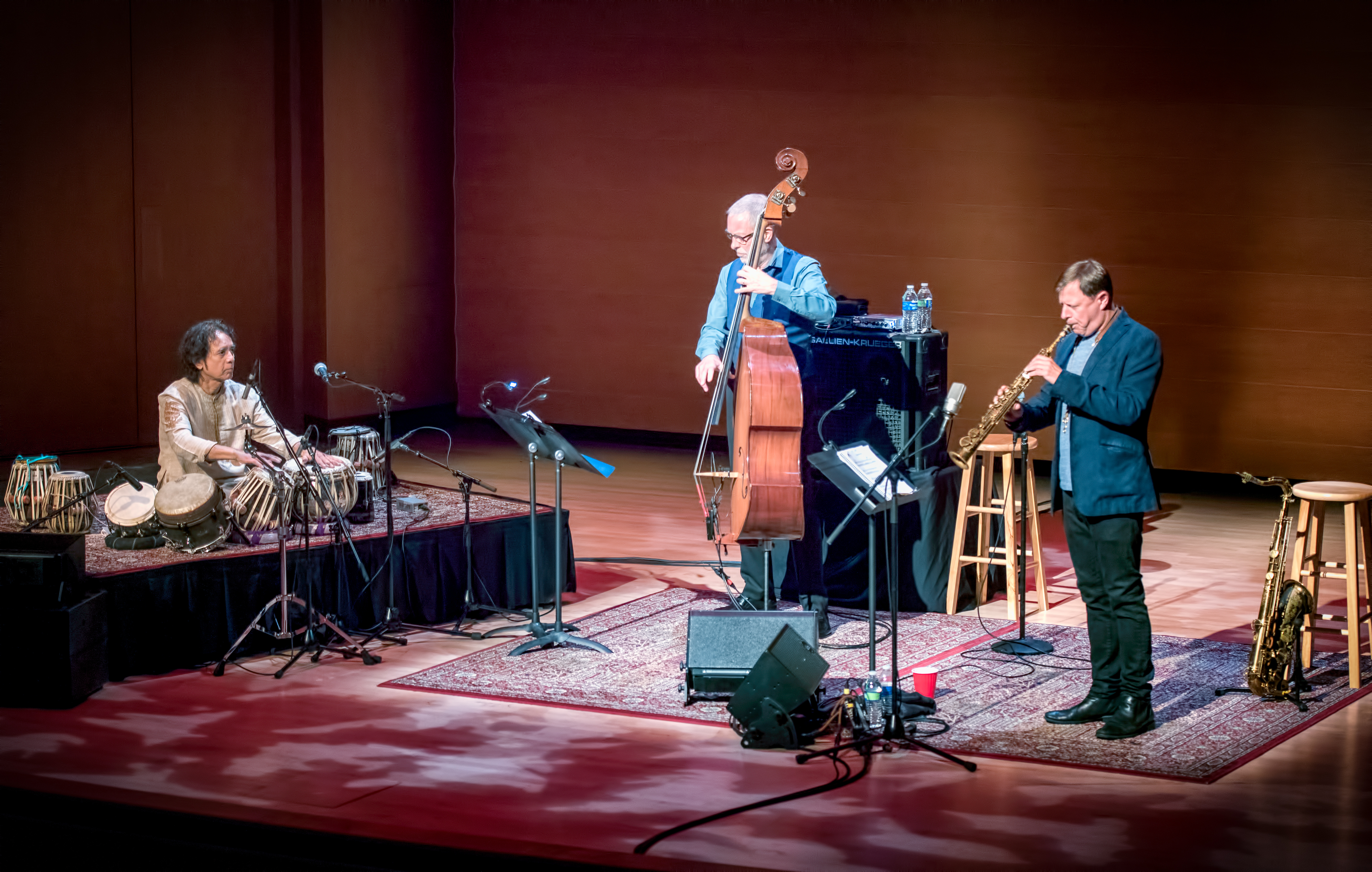 Zakir Hussain, Dave Holland And Chris Potter At The Musical Instrument Museum (mim) In Phoenix