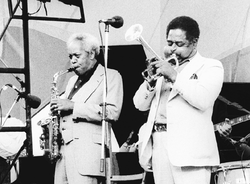 Sonny Stitt : Dizzy Gillespie 0210929 Images of Jazz