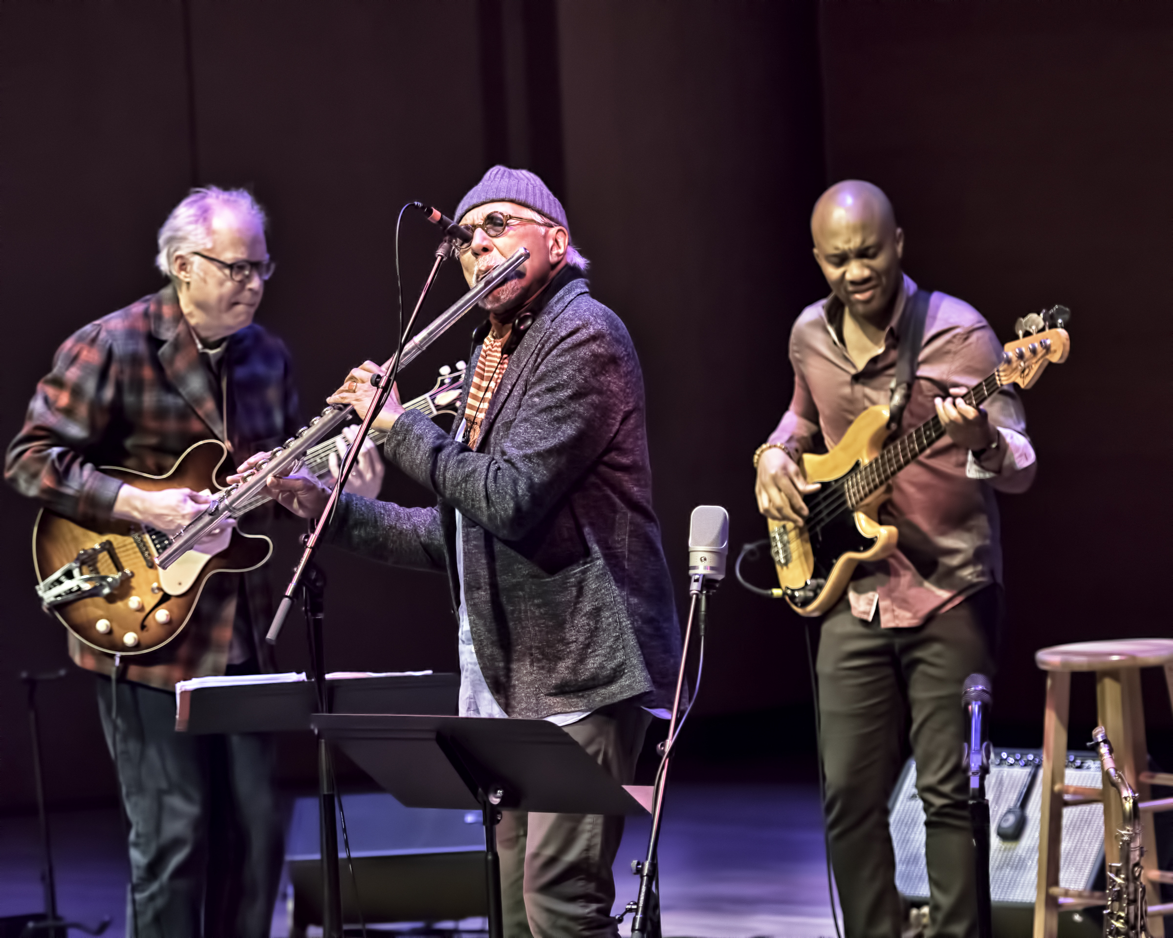 Bill Frisell, Charles Lloyd And Reuben Rogers With Quartet At The Musical Instrument Museum (mim) Phoenix