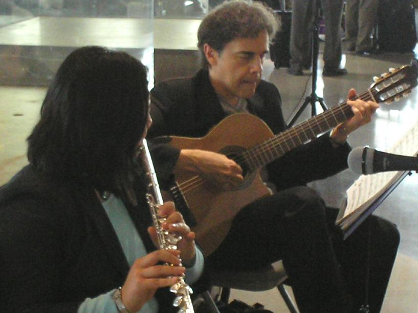 Matt Richards & Katherine Barbato at Phila Airport 3/16/12