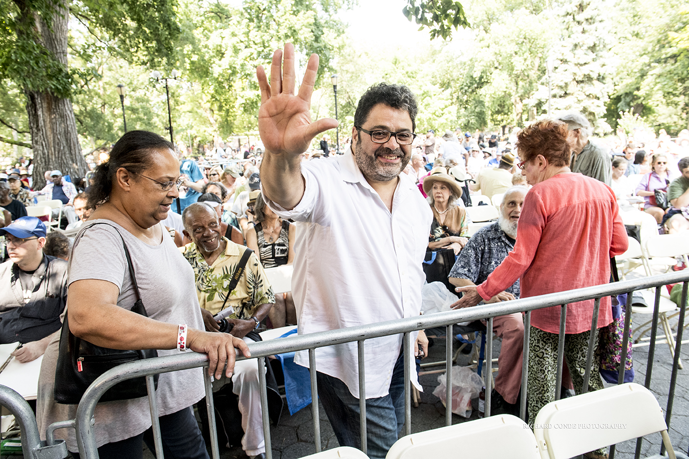 Arturo O farrill at the 2018 Charlie Parker Jazz Festival